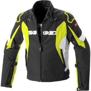 Spidi Sport Warrior H2Out Motorsykkel tekstil jakke M Svart Gul