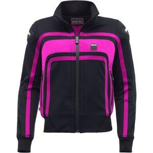Blauer Easy Rider Ladies motorsykkel tekstil jakke XS Svart Rosa