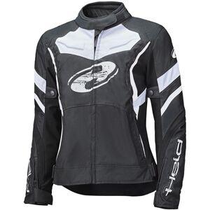 Held Baxley Top Ladies motorsykkel tekstil jakke 2XL Svart Hvit