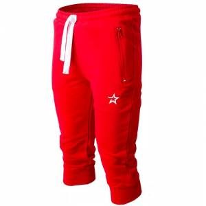 Star Nutrition Gear Star Nutrition 3/4 Pants, Red