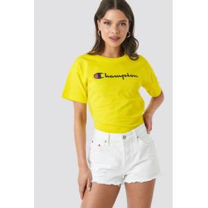 Champion Crewneck Tee 111393 - Yellow