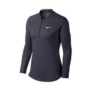 Nike Pure LS Top Half Zip Gridiron/Grey L