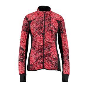 Hummel Womens Bea Zip Jacket - Scarlet