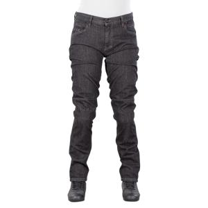 Dainese Alba Dam Slim MC-Jeans Svart-Rinsed/