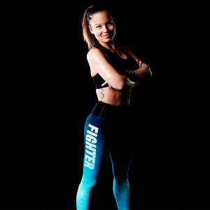 Fighter Compression tights long Gazelle dam