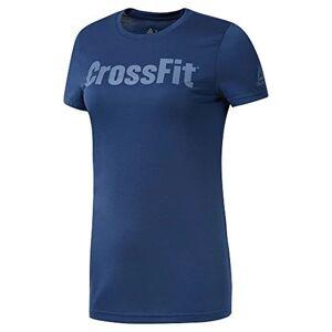 Reebok T-shirt med kortärm Dam Reebok Fef Speedwick Blå - M