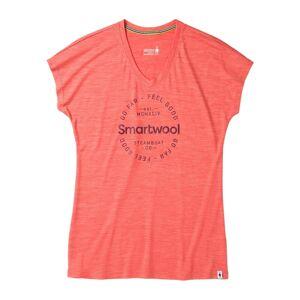 SmartWool Merino Sport 150 Go Far Feel Good Dam T-Skjorta orange - S