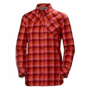 Helly Hansen Women's Lokka Longsleeve Shirt Röd