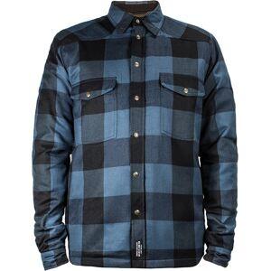 John Doe Moto Skjorta Blå 4XL