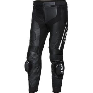 IXS X-Sport LD RS-1000 Motorcykel läderbyxor 46 48 Svart Vit