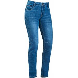 Ixon Cathelyn Damer motorcykel jeans byxor L Blå