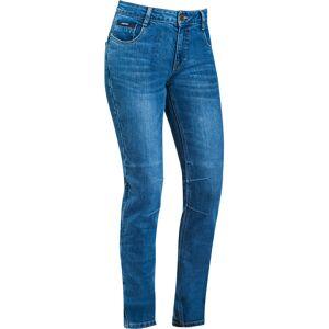 Ixon Cathelyn Damer motorcykel jeans byxor XS Blå