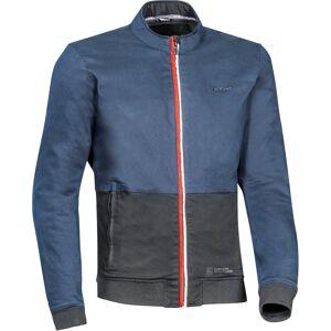 Ixon Fulham Motorcykel textil jacka L Svart Blå