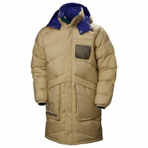 Helly Hansen Heritage Reversible Puffer Coat L Beige