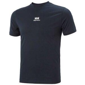 Helly Hansen Men's Yu20 Logo Breathable Cotton T-shirt   M Navy