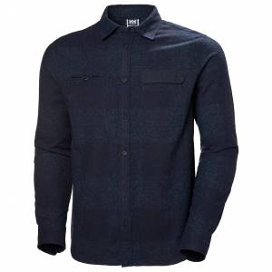 Helly Hansen Wool Ls Shirt XXL Navy