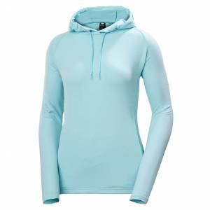 Helly Hansen W Verglas Light Hoodie XL Blue