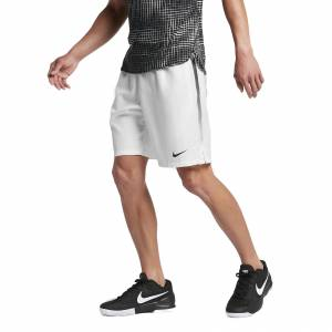 Nike Dry 9'' Shorts White L