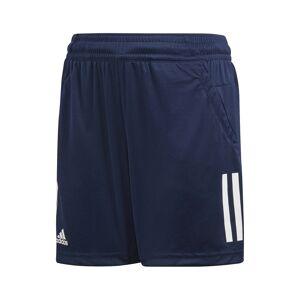 Adidas Club 3 Stripes Shorts Boys Navy 140