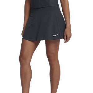 Nike Court Zonal Cooling Skirt Black/Anthracite/Silver L