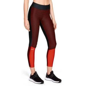 Under Armour HeatGear Armour Jac Ankle Crop L Black/red