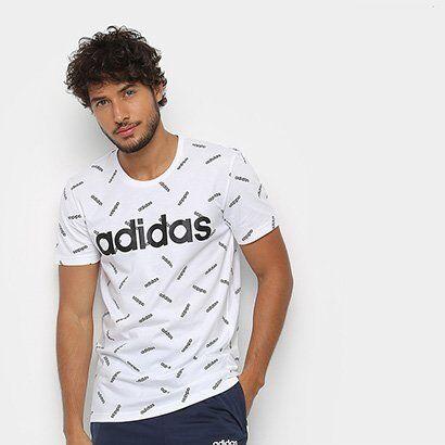 Camiseta Adidas AOP Masculina - Masculino