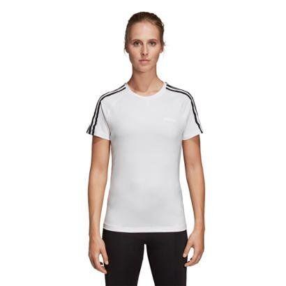Camiseta Adidas Design 2 Move 3 Stripes Feminina - Feminino