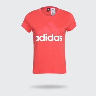 Camiseta Adidas Essentials Linear Feminina - Feminino