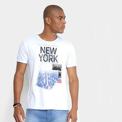 Camiseta Calvin Klein Estampa American Essentials Masculina - Masculino