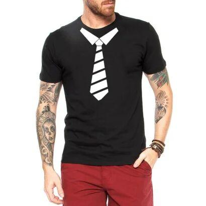 Camiseta Criativa Urbana Gravata Engraadas - Masculino
