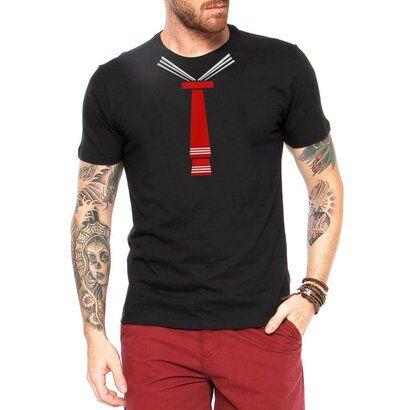 Camiseta Criativa Urbana Gravata Meu Tesouro Engraadas - Masculino