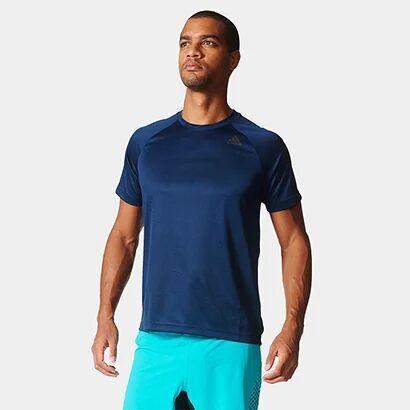 Camiseta Adidas D2M 3S Masculina - Masculino-Marinho