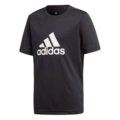 Camiseta Infantil Adidas Yb Gu Masculina - Masculino-Preto