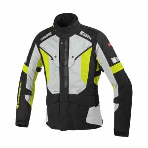 MC-Jakke Spidi Outlander H2Out, Neongul