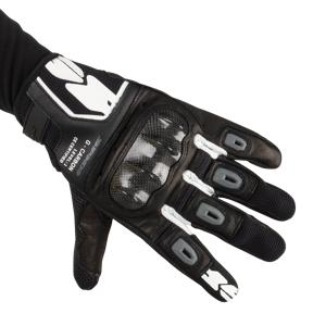 Spidi Handsker Spidi G-Carbon, Sort/Hvid