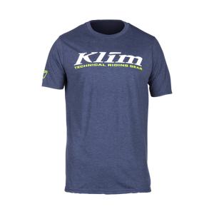 KLIM T-Shirt Klim K Corp, Marineblå/Hvid