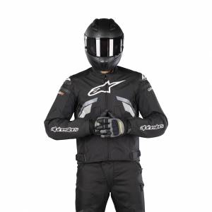 MC-Jakke Alpinestars T-GP Plus R V3, Sort/Grå/Hvid