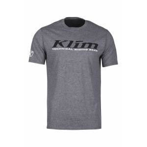 KLIM T-Shirt Klim K Corp Junior, Grå/Sort