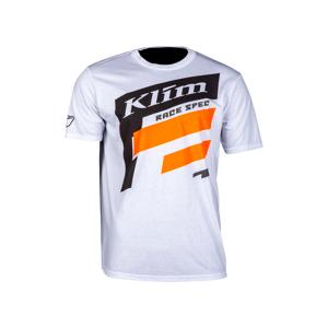 KLIM T-Paita Klim Race Spec Valko-Oranssi