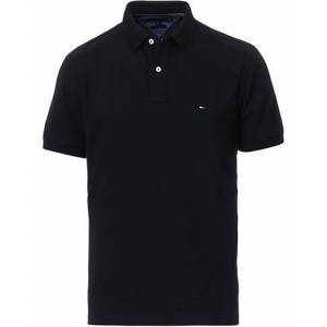 Tommy Hilfiger Regular Fit Polo Flag Black