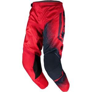 Scott 350 Race Lasten Motocross housut  - Punainen Sininen - Size: 26