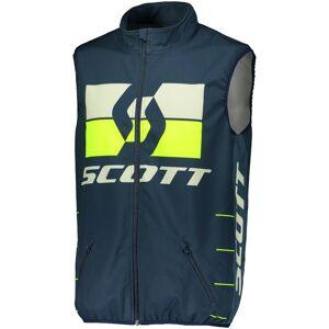 Scott Enduro Motocross liivi  - Sininen Keltainen - Size: M