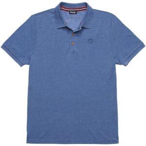 Blauer USA Melange PoloshirtSininen