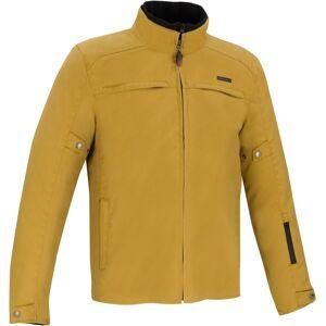 Bering Zander Moottori pyörä tekstiili takki  - Keltainen - Size: XL