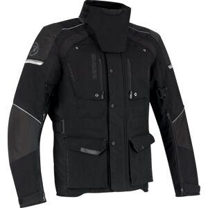 Bering Bonko Moottori pyörä tekstiili takki  - Musta - Size: M