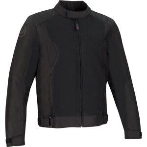 Bering Riko Moottori pyörä tekstiili takki  - Musta - Size: 3XL
