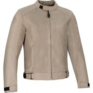 Bering Riko Moottori pyörä tekstiili takki  - Beige - Size: L