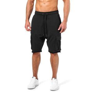 Better Bodies Bronx Cargo Shorts, wash black, Better Bodies