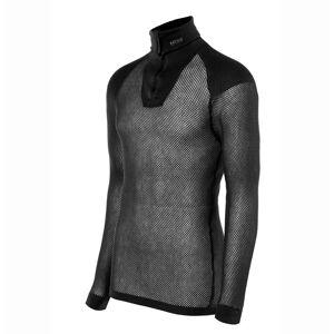 Brynje Wool Thermo polo m/glidelås m/innlegg Black