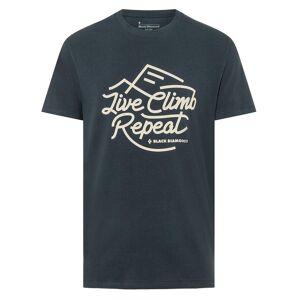 Black Diamond Live Climb Repeat - T-skjorte - Eclipse - XL